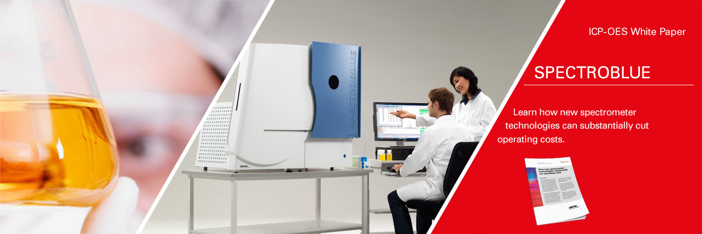 SPECTROBLUE – The ICP-OES spectrometer that delivers a new level of performance for routine laboratory analysis
