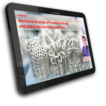 Webinar Additive Manufacturing