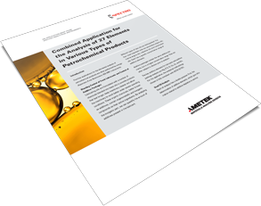 Analysis of Petrochemical Products