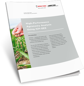 High-Performance Agronomy Analysis Using ICP-OES