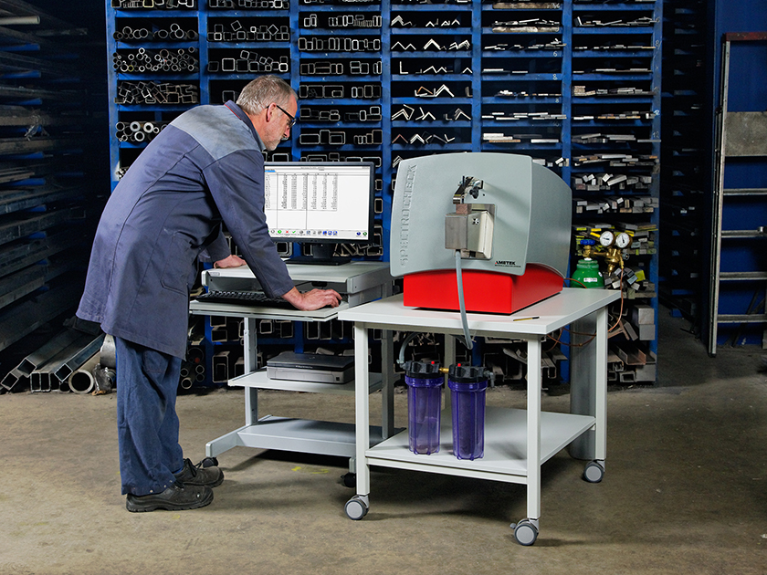 Stationary Metal Analyzer SPECTROCHECK