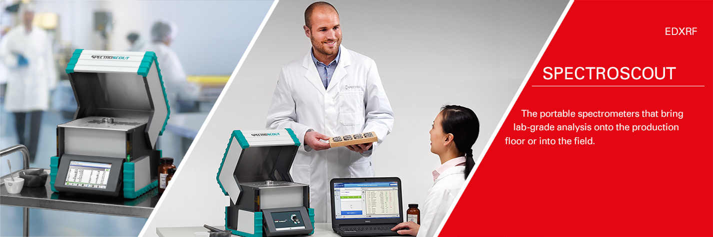 SPECTROSCOUT – The portable spectrometers that bring lab-grade analysis into the field or onto the production floor